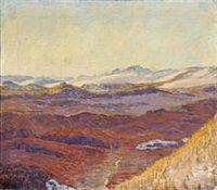 Landscape by Johannes Larsen