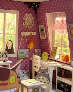Cunas Y Otros viveros artículos 1:12 Scale Casa De Muñecas Vivero suites