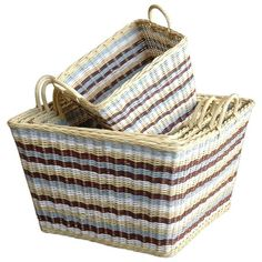 I pinned this Jeffan 5 Piece Misty Wicker Basket Set from the Dec-A-Porter event at Joss and Main!