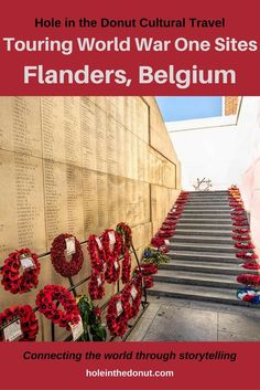 World War One Sites in Flanders, Belgium - A Perfect Destination for History Buffs. Travel in Europe.