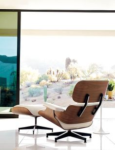 Eames® Lounge and Ottoman - Design Within Reach