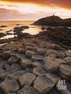 Giants Causeway, Northern Ireland Photographic Print by Doug Pearson at Art.com