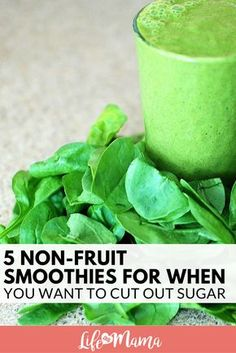 If you are trying to cut down on sugar or have to avoid it due to a health concern, you need to check out some non-fruit smoothies! #smoothies #nonfruitsmoothies #healthyeating