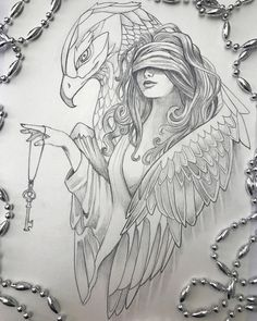 Chicano art, female character design, colorful drawings, pencil drawings, a Dark Art Drawings, Tattoo Design Drawings, Pencil Art Drawings, Art Drawings Sketches, Tattoo Sketches, Cool Drawings, Drawing Art, Colorful Drawings, Drawing Ideas
