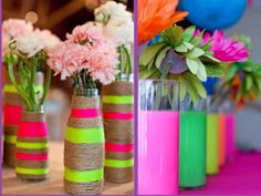 Colourful vases❤️
