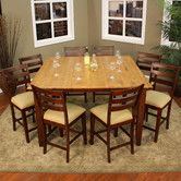 Found it at Wayfair - Andria 9 Piece Counter Height Dining Set