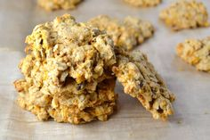 These cookies taste almost like carrot cake, but because they're sweetened with maple syrup instead of sugar, we don't feel bad about eating 3 (or 10) in a row.