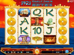 1421 Voyages of Zheng is an online slot from IGT offering a Chinese theme. Play now at top casino sites Zheng He, Top Casino, Casino Sites, Igt Slots, Chinese Theme, Gun, Shop, Arcade Game Machines, Pictures