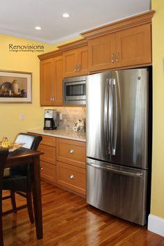 Cherry kitchen cabinets, Cherry kitchen and Cherries on ...