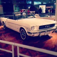 1965 Ford Mustang Convertible, White Ford Mustang 1960, 64 Mustang, Vintage Mustang, Ford Mustang Convertible, Ford Mustangs, Classic Collection, Corvette, Dream Cars, Vehicles