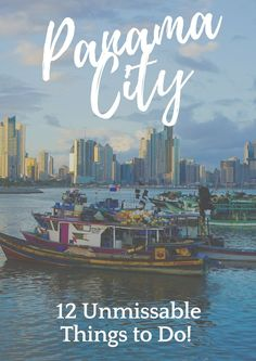 12 Unmissable Things to Do in Panama City! Panama city Panama central america travel good and what to do. Travel guide for Panama. Top tourist attractions:  Panama Viejo, Fort of Portobelo,  Casco Viejo, Ancon Hill, San Blas Islands, Miraflores Locks, Panama Canal, Cinta Costera, Biomuseo,  ☆☆ Travel Guide / Bucket List Ideas Before I Die By #Inspiredbymaps ☆☆