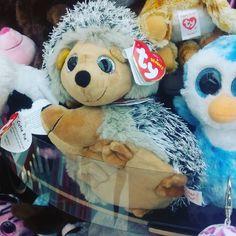 Pingüinos azules y #erizos que se pinchan unos a otros :o #pelucheando #peluches #softtoys #plush #instatoys #ty #hedgehog #penguin