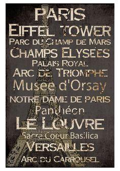 Paris - déco intéressante