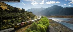KiwiRail Scenic Journeys | TranzAlpine Scenic Train Journey (Christchurch > Greymouth)