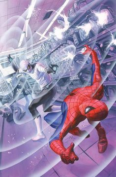 Amazing Spider-Man #1.1: Learning to Crawl - Spider-Man vs. Clash by Alex Ross *