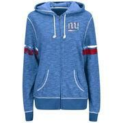 NFLShop.com - NFLShop.com Women's New York Giants Majestic Royal Plus Size Athletic Tradition Full-Zip Hoodie - AdoreWe.com