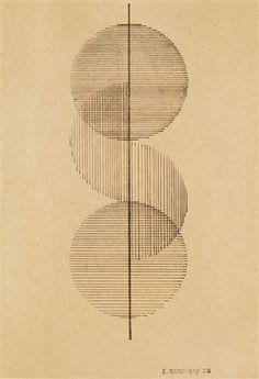 Geometrische Komposition by Erich Borchert