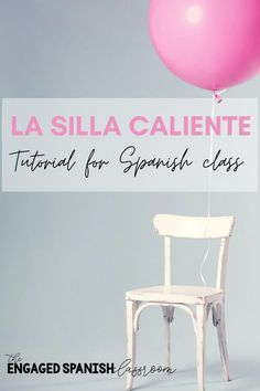 Are you looking for a competitive game to play with your middle and high school Spanish students? La Silla Caliente is ready for you! This game has a healthy mix of movement, competition, and fun, while also providing an opportunity to informally assess every student at once. I know your students will love it as much as mine do! Click through to read the game tutorial, activity benefits, differentiation strategies, and to access editable pre-made games! High School Spanish, Spanish Class, Differentiation Strategies, Grammar Lessons, Assessment, Games To Play, Opportunity, Competition, Students