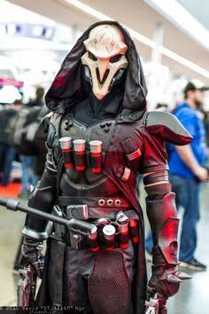 Reaper cosplay