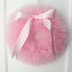 Pink Ballerina Party Tutu Wreath/ It's a Girl Wreath by shopfluff Ballerina Birthday Parties, Ballerina Party, Gender Reveal Party Decorations, Baby Shower Decorations, Baby Shower Favors, Baby Shower Invitations, Tutu Wreath, Teacher Party, Pink