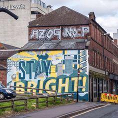Stay Bright #sheffield #staybright #backfields #s1 #streetart #art #urbanart #street #urban_graffiti #graffitiart #graffiti #graff #color Urban Graffiti, Graffiti Art, Sheffield, Urban Art, Fields, Street Art, Bright, Instagram Posts, Color