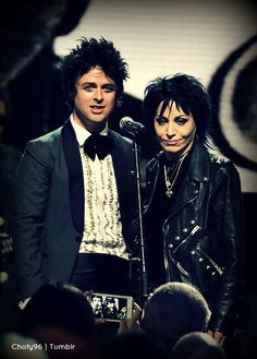 Billie Joe and Joan Jett my fav people ever