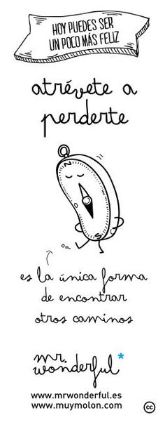 mr wonderful - atravete a perderte;*