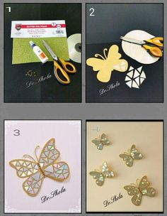 How to make CD butterfliesCD-butterflies-4