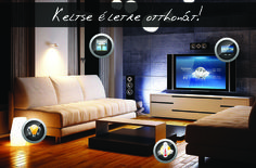 Modern and Smart Entertainment at most economical prices - Home Theatre, Multi room audio, Audio video systems & Ambience TV backlight. Tv Backlight, Home Lighting, Lighting Ideas, Smart Home Technology, Interior Decorating, Interior Design, Farmhouse Lighting, Home Automation, Home Theater