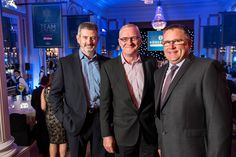 Iain Sutherland, Graeme Lawtie and Steve Anderson