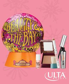 Cali cool girl vibes, right this way! Love this Benefit holiday kit, exclusive to Ulta Beauty, full of fan faves. Full sizes of They're Real! Mascara, High Brow pencil, Hoola matte bronzer, and a mini of High Beam highlighter.
