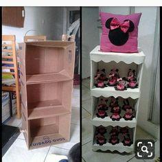 Mark a gifted and creative friend 😍😍 … - Dekoration Ideen 2019 Diy Cardboard Furniture, Cardboard Crafts, Paper Crafts, Cardboard Boxes, Diy Home Crafts, Diy Arts And Crafts, Crafts For Kids, Diy Para A Casa, Diys