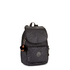 Kipling Cayenne Basic Plus Kleiner Rucksack Black Scale Emb