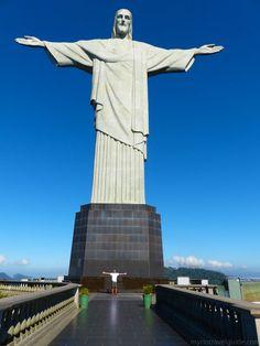 Human height versus Christ the Redeemer Statue height - Brazil