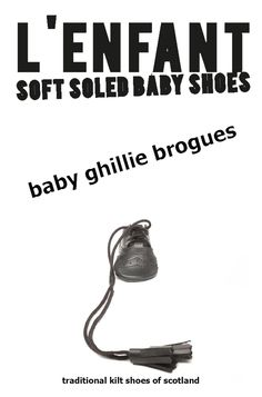 Ghillie brogues Scottish dress for baby, baby ghillie brogues