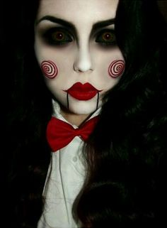 This will be JUMPIN for Halloween. But my eyes may be too blue to pull it off =