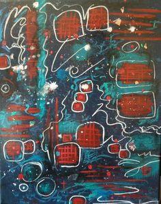 Acrylic Canvas, Abstract Canvas, Canvas Artwork, Mixed Media Painting, Mixed Media Canvas, High Gloss Paint, Canvas Home, Metallic Paint, Home Decor Wall Art