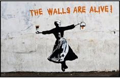 The walls are alive! #graffiti #street #art