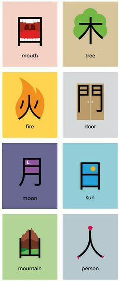 8 Chinese words