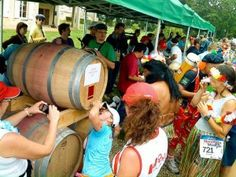 Marathon du Médoc: running and sampling wine and cheese at the same time? Sign me up! Food Stands, Marathon, Racing, France, Travel, Runners, Red Carpet, Bucket, Ice Cream