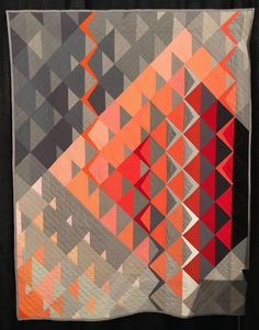 21 modern quilts from the 2019 Modern Quilt Showcase Mary&FabricCrafts. This awesome photo collections about 21 modern quilts from the 2019 Modern Quilt Modern Quilting Designs, Modern Quilt Patterns, Quilt Patterns Free, Block Patterns, Modern Quilt Blocks, Quilting Templates, Geometric Patterns, Geometric Quilt, Arts And Crafts For Teens