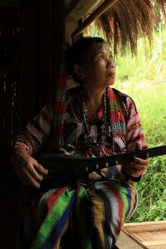 The beautiful T'boli. This is my favorite among the lumad tribes of Mindanao. Their dance and costumes are very interesting. Women most especially are adorned by so many colorful things from their Malongs, T'nalak (weaved garments), and beaded accessories.