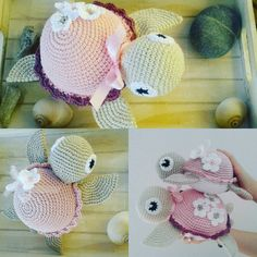 "101 Likes, 11 Comments - Marleen's by Daniela Groß (@marleensmadeforyou) on Instagram: ""Im turtle Fieber. ..pattern @vibemai  #turtle #Schildkröten #häkeln #crochetlove #dollmaking…"""