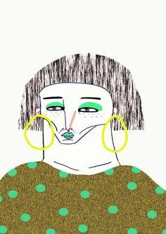 illustration by Ashley Percival. fashion illustration, illustration, illustrator, character design, people, portrait, fashion, art,