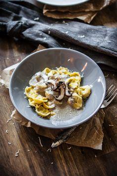 Champignon-Tortellini