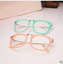 Mais novo do Metal do vintage seta simples espelho óculos de armação placa  rosa verde Freeshipping ec5bc8c0b8
