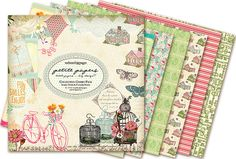 ...{NEW!} Perfect Motifs & Petite Paper Pads from Webster's Pages
