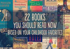 Recapture all of that youthful wonder. 22 books to read based on your childhood favorites Books You Should Read, I Love Books, Good Books, Books To Read, My Books, Amazing Books, Reading Lists, Book Lists, Reading Time