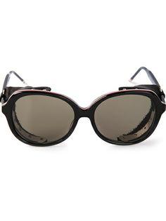 Thom Browne Round Frame Sunglasses
