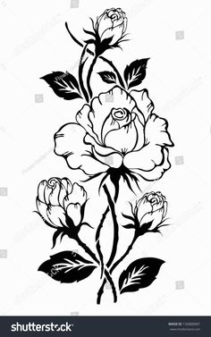 Find Rose Motif Pattern Hand Drawn Vector stock images in HD and millions of other royalty-free stock photos, illustrations and vectors in the Shutterstock collection. Rose Stencil, Free Adult Coloring, Flower Henna, Leather Carving, Stencil Painting, Vector Art, Vector Stock, Pyrography, Illustration